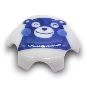 肥前陶磁器専門のオンラインショップ陶樹庵 有田焼 排水口ドレインカバー くまモン笑顔