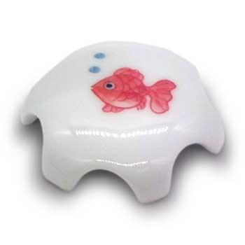 肥前陶磁器専門のオンラインショップ陶樹庵 有田焼 排水口ドレインカバー 金魚