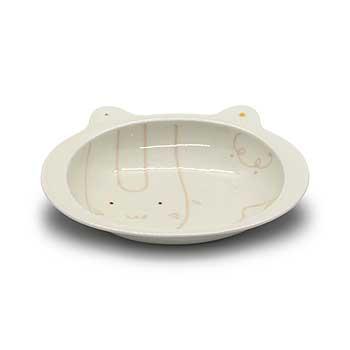 肥前陶磁器専門のオンラインショップ陶樹庵 子供用食器 コパン カレー皿